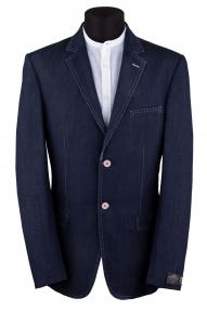 Пиджак мужской Delmont 2295 (синий джинс)