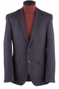 Пиджак мужской BAWER P-235-03 (сине-коричневый)