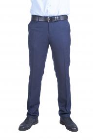 Мужские брюки Claude 26 (синяя клетка)