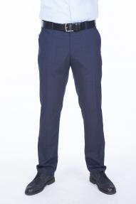 Мужские брюки Claude 289 (синяя клетка)