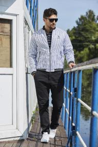 Куртка мужская демисезонная Scanndi CM2927 (разные цвета)
