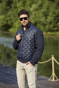 Куртка-бомбер мужская Scanndi (темно-синий) CM2989