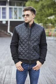 Куртка-бомбер мужская Scanndi (черный) CM2989
