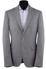 Мужской пиджак SIMONI 3001267 Батал (серый)