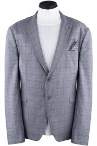 Пиджак мужской DCS 3008 (серый в клетку)