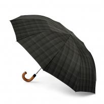 Зонт мужской полуавтомат FULTON G857-3559 (серая клетка)