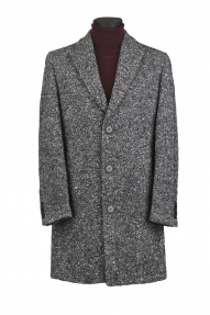Мужское пальто Carducci 36510 (серый меланж)