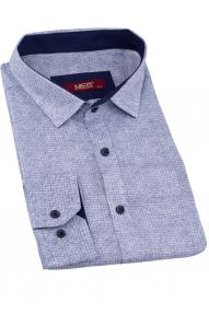 Сорочка мужская MCR 37338 Батал (разные цвета с принтом)