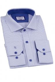 Сорочка мужская Bazzelli 4048-4CRD (голубой)