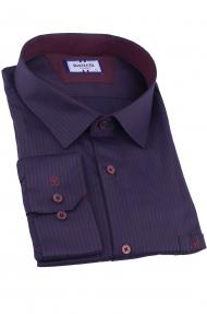 Сорочка мужская Bazzelli 4081-B-1CRC (тёмно-синий)