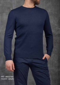 Джемпер мужской Van Cliff 46022/445 (темно-синий)