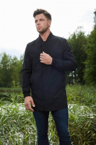 Мужская куртка Scanndi 29073 (черная, синяя)