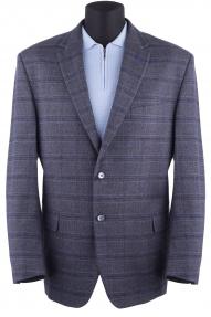 Пиджак мужской Mark Man 4940 (серый в синюю клетку)