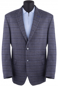 Пиджак муж. Mark Man 4940 (серый в синюю клетку)