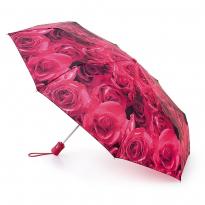 Зонт женский автомат FULTON L346-2252 (Красные розы)
