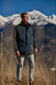 Куртка демисезонная мужская Scanndi CM29087 (морская волна)