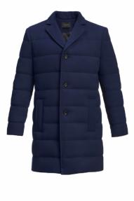 Пальто-пуховик мужское «Alexander» M-502 2021 (синий)