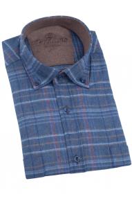 Рубашка мужская PICALINO 519-3 (светло-джинсовый))