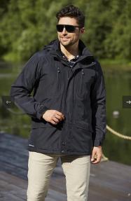 Куртка демисезонная мужская Scanndi CM29003 (черный)