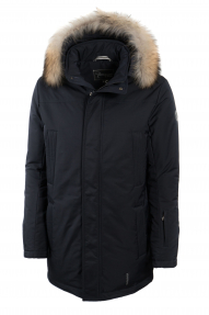 Куртка мужская Technology 569C (темно-синий) с мехом