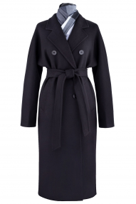 Пальто женское ZARYA GROUP M-572/8 (чёрный)