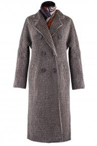 Пальто женское ZARYA GROUP M-572/15/16 (коричневый)