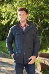 Мужская куртка Scanndi 2887 (тёмная морская волна)