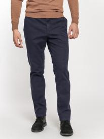 Брюки мужские Wegener 6628/19 Conti (серо-синяя клетка)