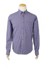 Рубашка мужская BIGNESS (Цветная клетка) 667464