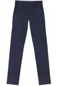 Брюки мужские X-FOOT 71-7116 (тёмно-синий в полоску)