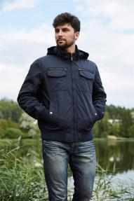 Мужская куртка Scanndi 2893 (тёмной морской волны)
