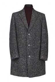 Мужское пальто Carducci 79196 (синий, серый, бежевый меланж)
