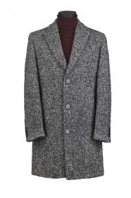 Мужское пальто Carducci 79198 (серый меланж)