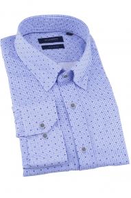 Сорочка мужская CLIMBER 820-1106 (бело-голубой)
