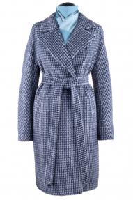 Пальто женское ZARYA GROUP M-847/3 (чёрно-серый)