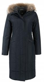 Пальто зимнее жен. Technology (арт. 851 CD) темно-синий
