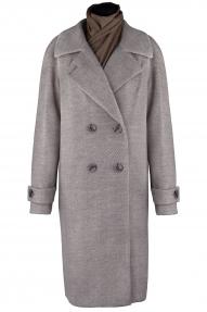 Пальто женское ZARYA GROUP M-889/5 (кофейный)