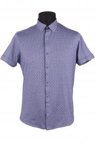Сорочка мужская Semсo 8991 norma (цветной принт)