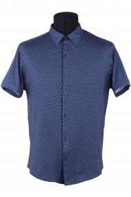 Сорочка мужская Semсo 9006 (тёмно-синий)