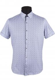 Сорочка мужская Semсo 9050 (белый, синий)