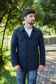 Мужская куртка Scanndi 2849 (тёмная морская волна)
