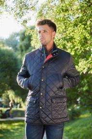 Куртка демисезонная мужская Scanndi CM2837 (тёмно-синий)