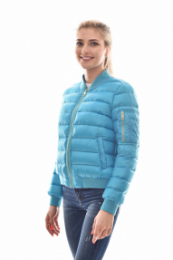 Куртка женская демисезонная SCANNDI CW 2950 (голубой, розовый, т.синий)