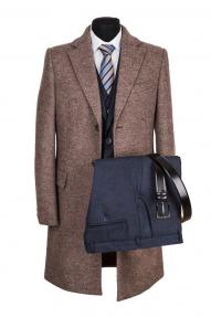 """Мужское пальто FORREMANN """"Монтерей беж"""" А57747"""
