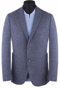 Пиджак мужской Carducci С3110303 (серый, синий)