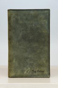 Мужское портмоне Tony Bellucci зелёный