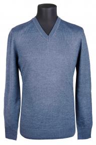 Джемпер муж. Van Cliff (арт. VC 6023/434) серо-голубой