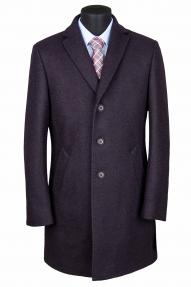"""Пальто мужское Van Cliff (арт. A57851 """"Винтур вайм"""") темно-бордовый"""