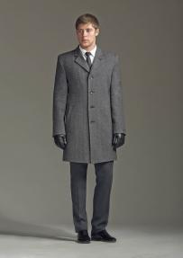 Пальто демисезонное «Alexander» М-209 (серый)