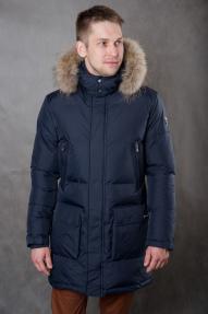 Куртка мужская утепленная SCANNDI CM19021a темно-синий